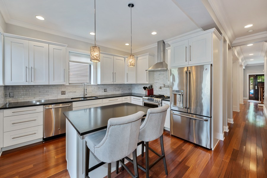 Real Estate Photography - 3417 N Oakley, Chicago, IL, 60657 - Kitchen