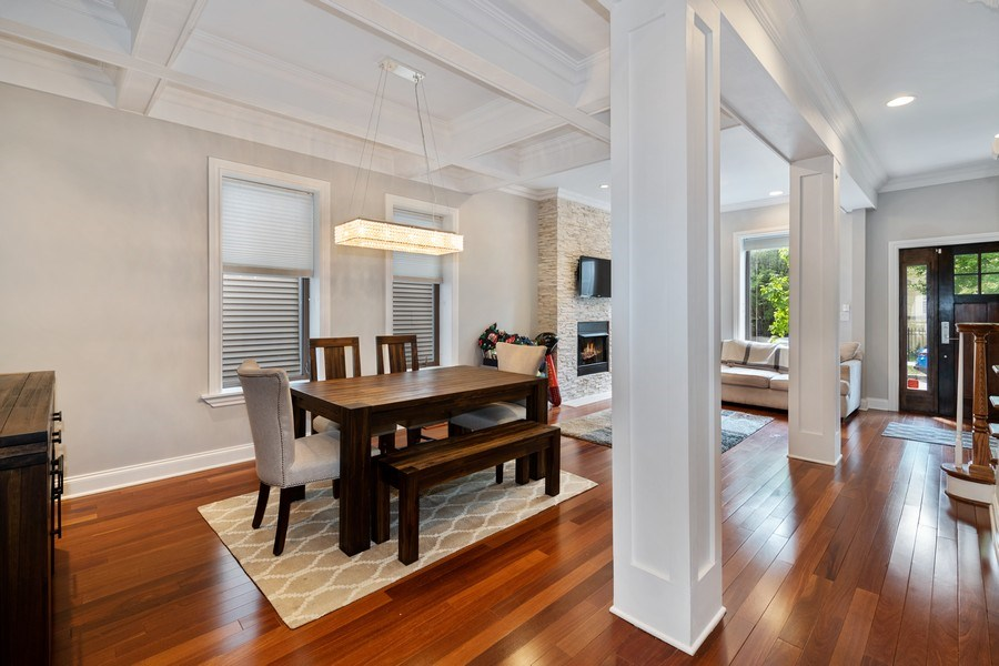 Real Estate Photography - 3417 N Oakley, Chicago, IL, 60657 - Dining Room