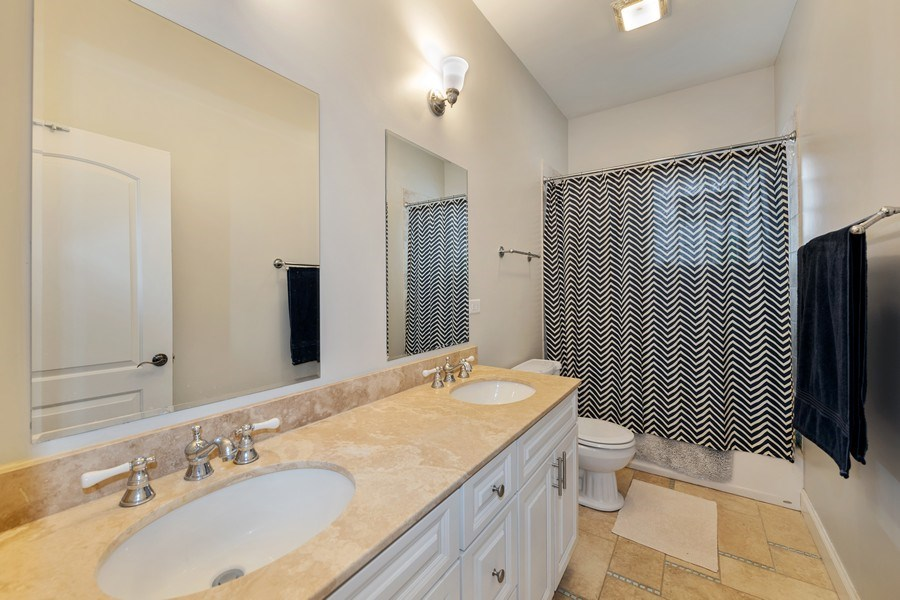 Real Estate Photography - 3417 N Oakley, Chicago, IL, 60657 - 2nd Bathroom