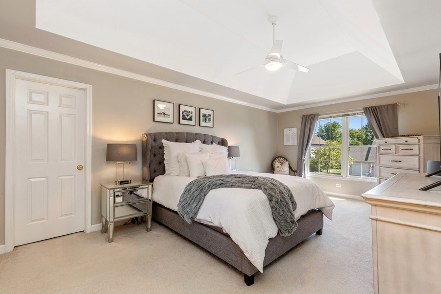Real Estate Photography - 4N530 School, St. Charles, IL, 60175 - Master Bedroom
