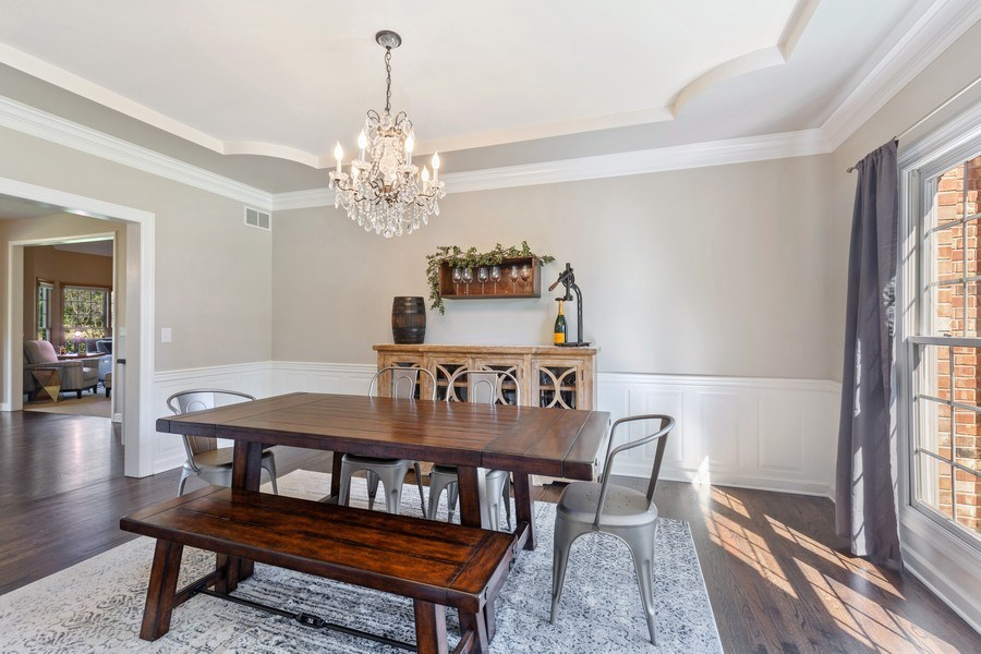 Real Estate Photography - 4N530 School, St. Charles, IL, 60175 - Dining Room