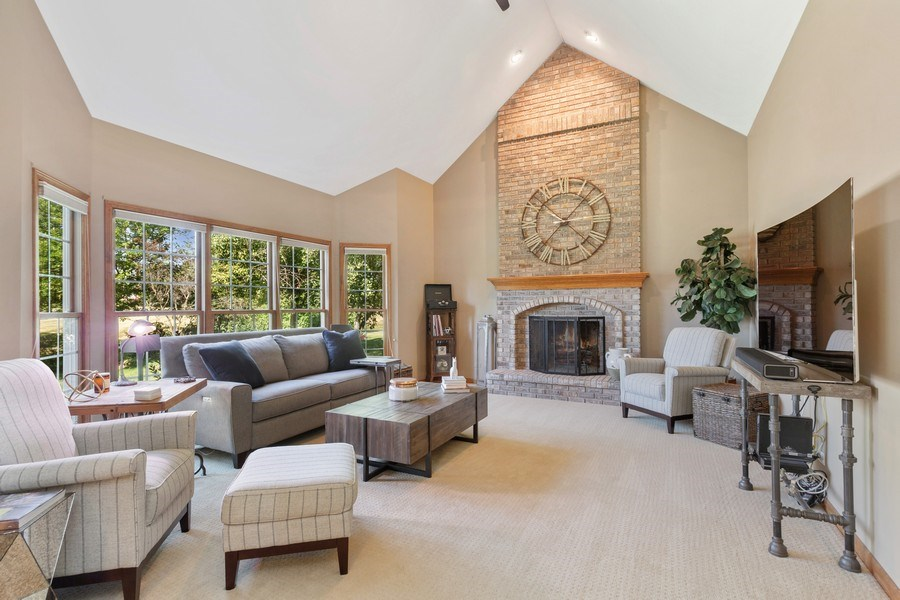 Real Estate Photography - 4N530 School, St. Charles, IL, 60175 - Family Room