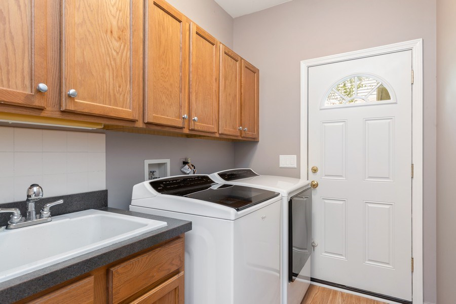 Real Estate Photography - 4N530 School, St. Charles, IL, 60175 - Laundry Room
