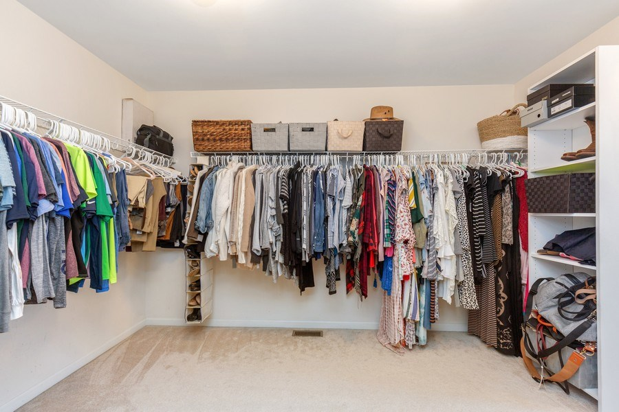 Real Estate Photography - 4N530 School, St. Charles, IL, 60175 - Master Bedroom Closet