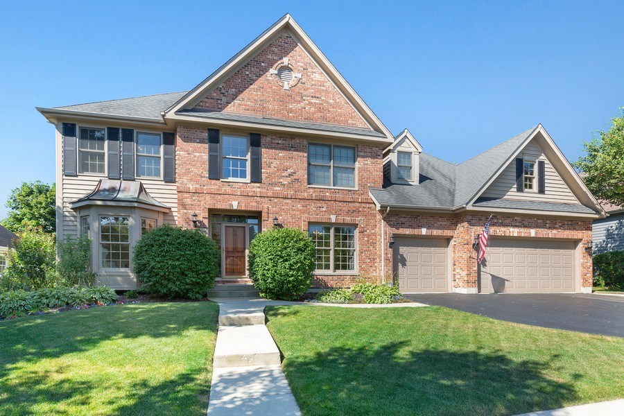 Real Estate Photography - 4N530 School, St. Charles, IL, 60175 - Front View