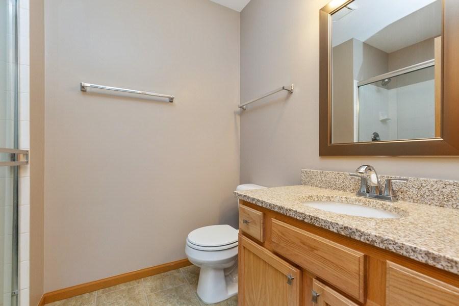 Real Estate Photography - 237 Nicole Dr. Unit D, South Elgin, IL, 60177 - Master Bathroom