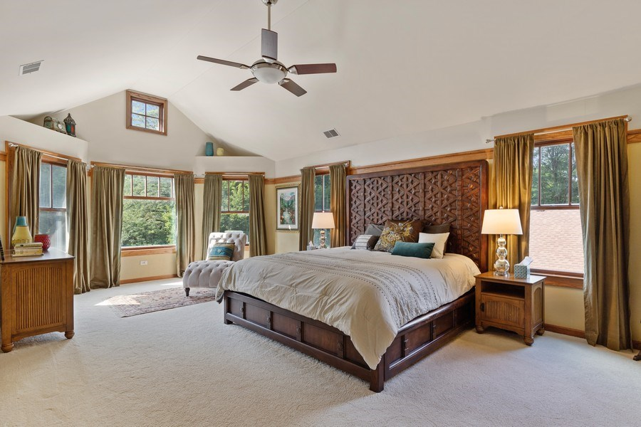Real Estate Photography - 133 Scottswood Road, Riverside, IL, 60546 - Master Bedroom