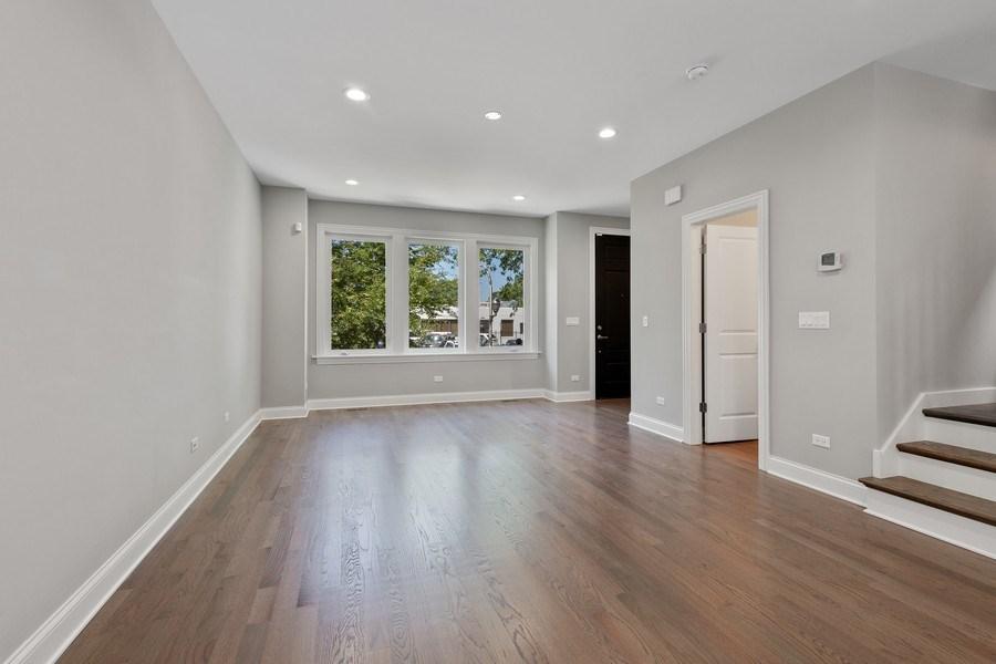 Real Estate Photography - 3537 N. Kostner, Chicago, IL, 60641 - Living Room