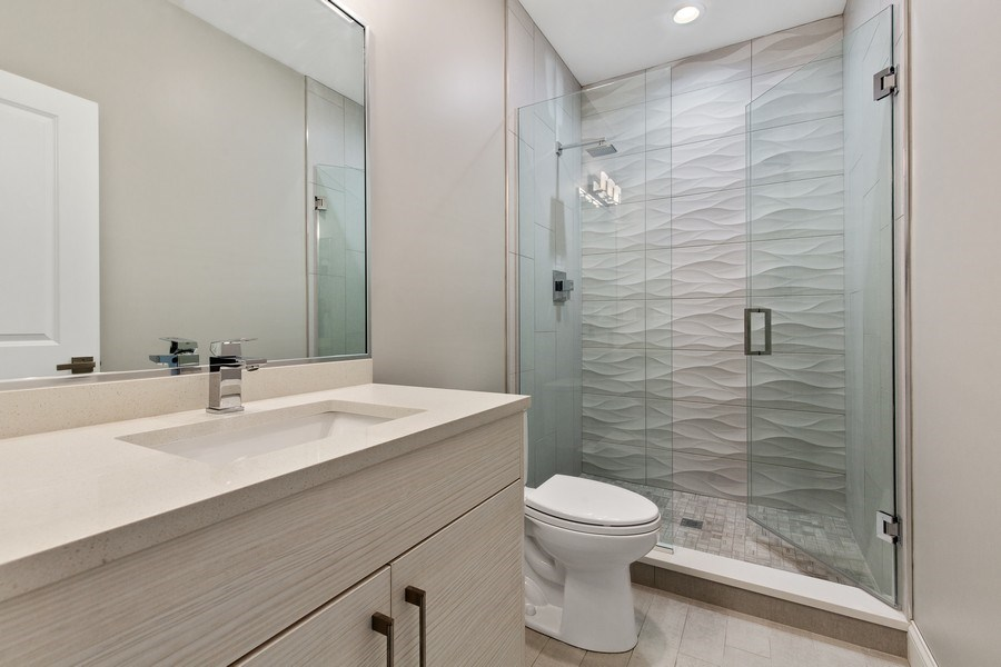 Real Estate Photography - 3537 N. Kostner, Chicago, IL, 60641 - 3rd Bathroom