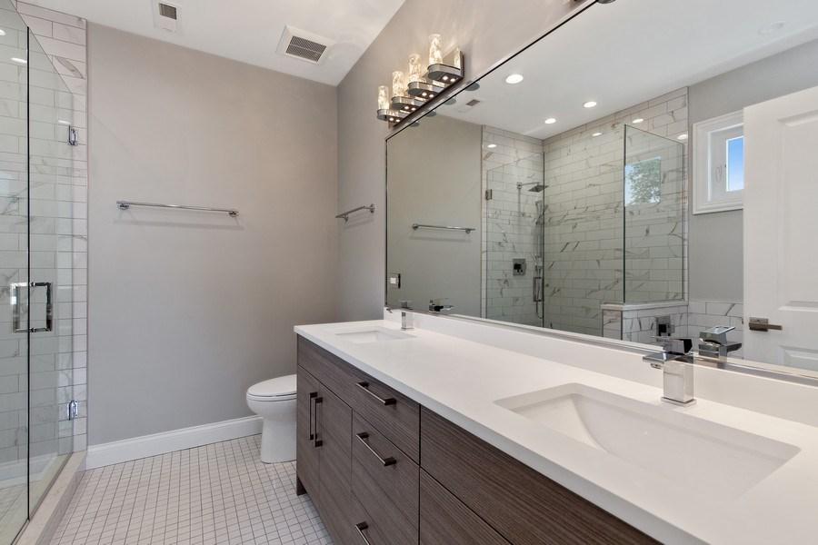 Real Estate Photography - 3537 N. Kostner, Chicago, IL, 60641 - Master Bathroom