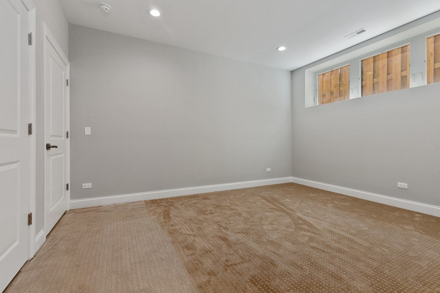 Real Estate Photography - 3537 N. Kostner, Chicago, IL, 60641 - 4th Bedroom