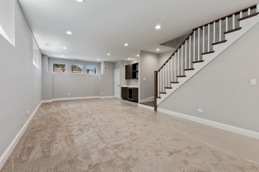 Real Estate Photography - 3537 N. Kostner, Chicago, IL, 60641 - Great Room