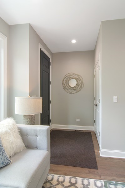 Real Estate Photography - 3537 N. Kostner, Chicago, IL, 60641 - Foyer