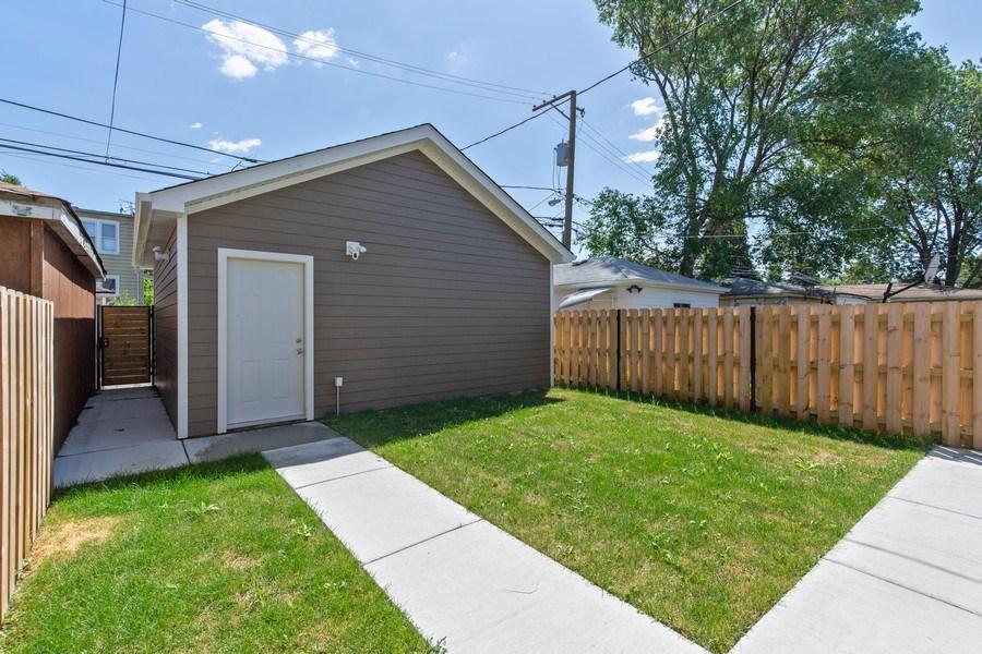 Real Estate Photography - 3537 N. Kostner, Chicago, IL, 60641 - Garage