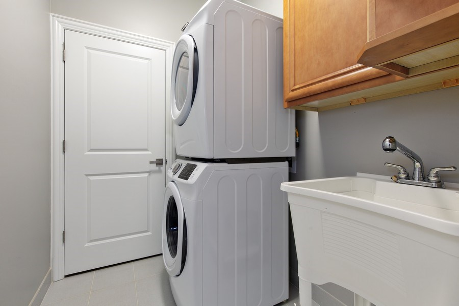Real Estate Photography - 3537 N. Kostner, Chicago, IL, 60641 - Laundry Room