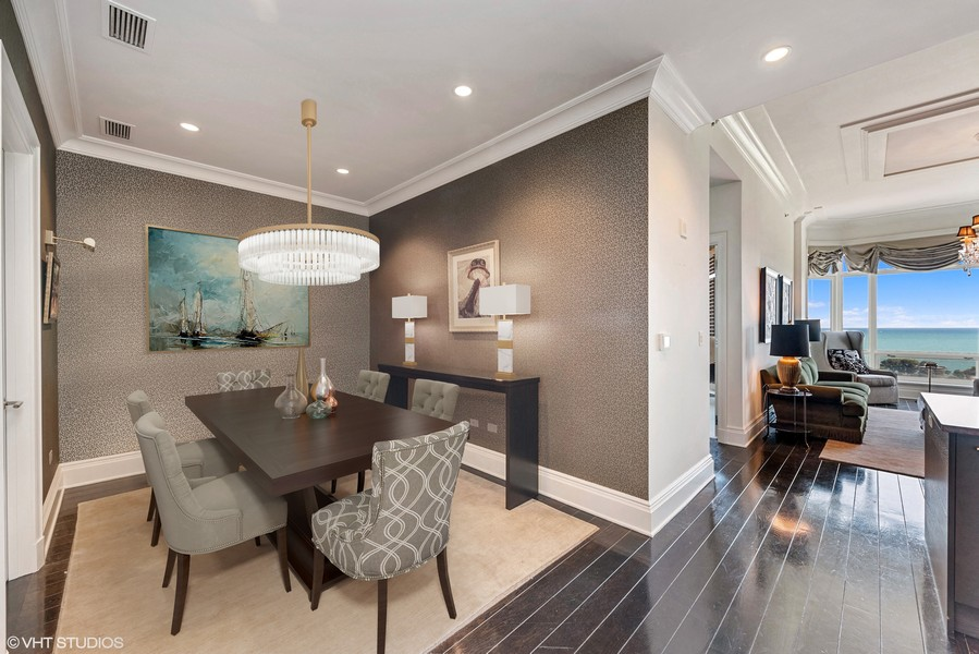 Real Estate Photography - 2550 N. Lakeview Ave., S1805, Chicago, IL, 60614 - Dining or Den or 3rd bedroom