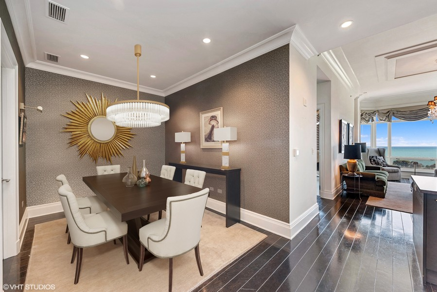 Real Estate Photography - 2550 N. Lakeview Ave., S1805, Chicago, IL, 60614 - Dining/Den or 3rd bedroom