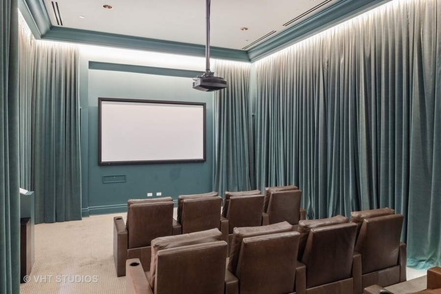 Real Estate Photography - 2550 N. Lakeview Ave., S1805, Chicago, IL, 60614 - Theater