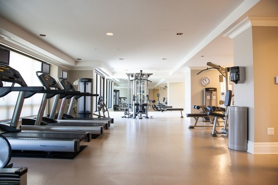 Real Estate Photography - 2550 N. Lakeview Ave., S1805, Chicago, IL, 60614 - Fitness Center