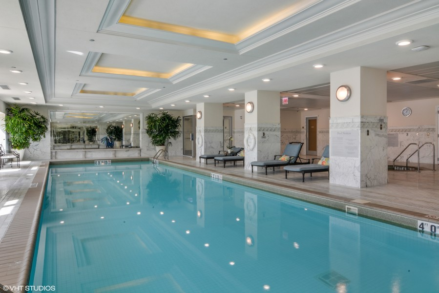 Real Estate Photography - 2550 N. Lakeview Ave., S1805, Chicago, IL, 60614 - Pool & Spa