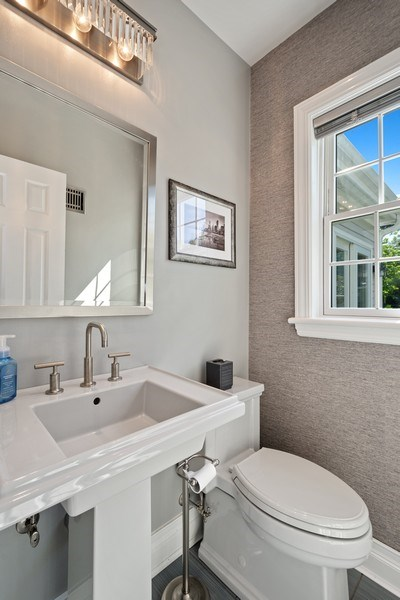 Real Estate Photography - 530 S Belmont Ave, Arlington Heights, IL, 60005 - Powder Room