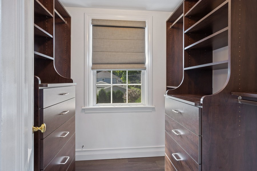 Real Estate Photography - 530 S Belmont Ave, Arlington Heights, IL, 60005 - Master Bedroom Closet