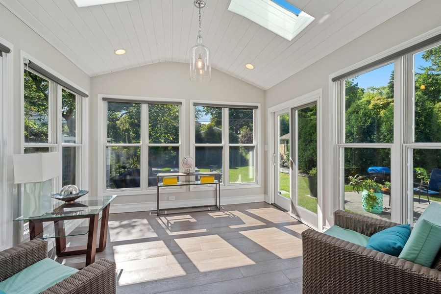 Real Estate Photography - 530 S Belmont Ave, Arlington Heights, IL, 60005 - Sun Room