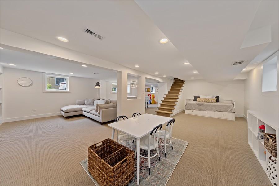 Real Estate Photography - 428 N Kensington Ave, La Grange Park, IL, 60526 - Lower Level