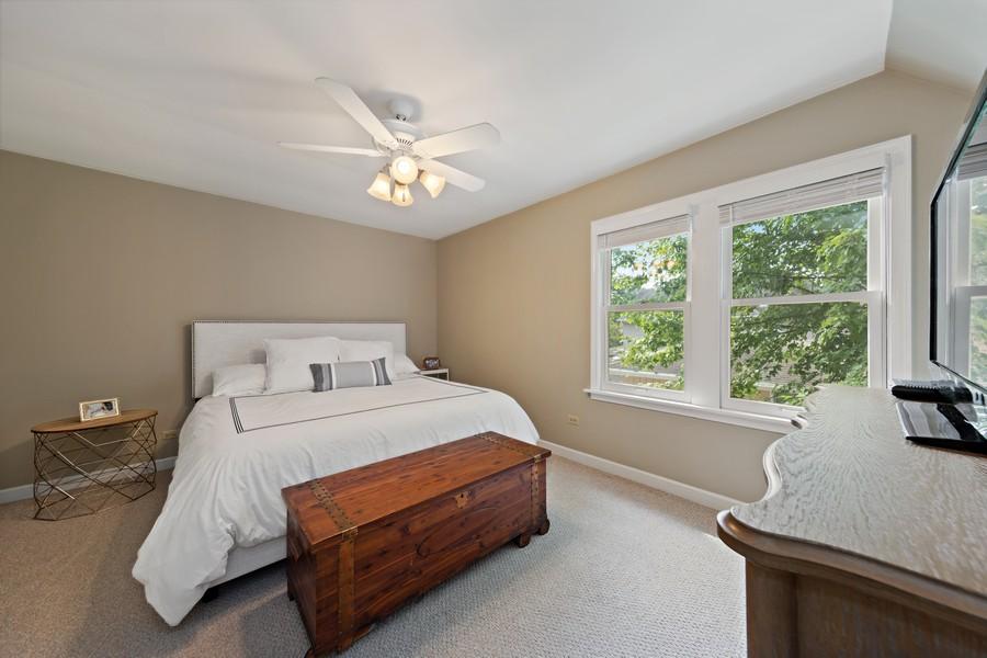 Real Estate Photography - 428 N Kensington Ave, La Grange Park, IL, 60526 - Master Bedroom