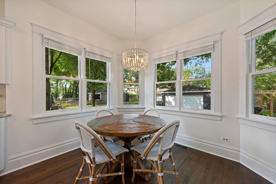 Real Estate Photography - 428 N Kensington Ave, La Grange Park, IL, 60526 - Breakfast Area
