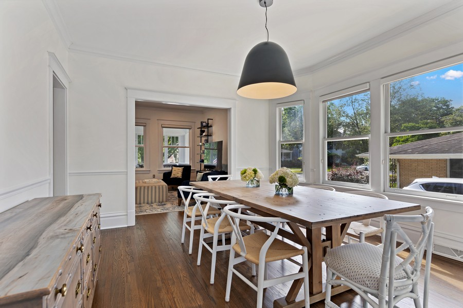 Real Estate Photography - 428 N Kensington Ave, La Grange Park, IL, 60526 - Dining Room