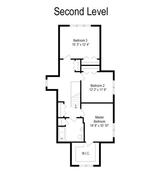 Real Estate Photography - 428 N Kensington Ave, La Grange Park, IL, 60526 - Floor Plan