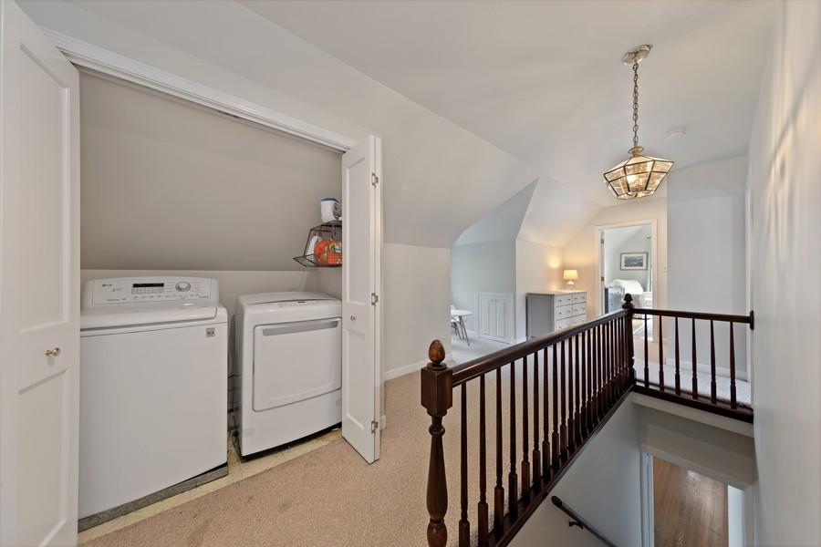 Real Estate Photography - 428 N Kensington Ave, La Grange Park, IL, 60526 - 2nd Floor Laundry