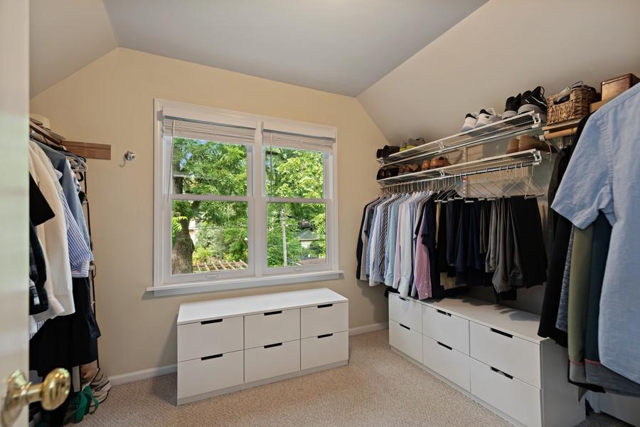 Real Estate Photography - 428 N Kensington Ave, La Grange Park, IL, 60526 - Master Bedroom Closet