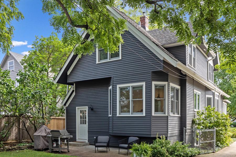 Real Estate Photography - 428 N Kensington Ave, La Grange Park, IL, 60526 - Rear View