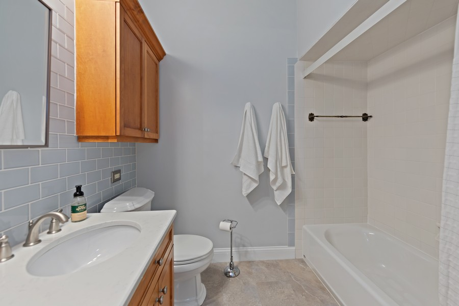 Real Estate Photography - 428 N Kensington Ave, La Grange Park, IL, 60526 - Bathroom