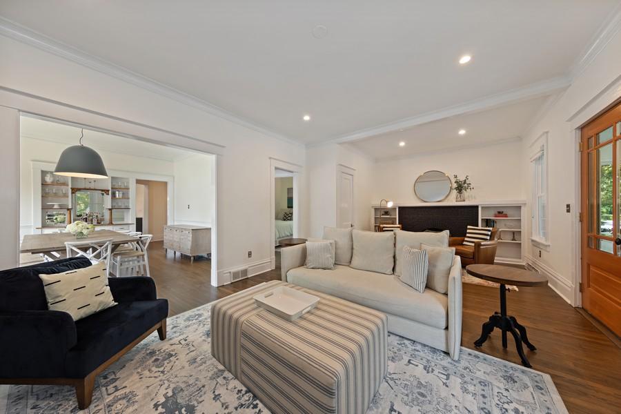 Real Estate Photography - 428 N Kensington Ave, La Grange Park, IL, 60526 - Living Room / Dining Room