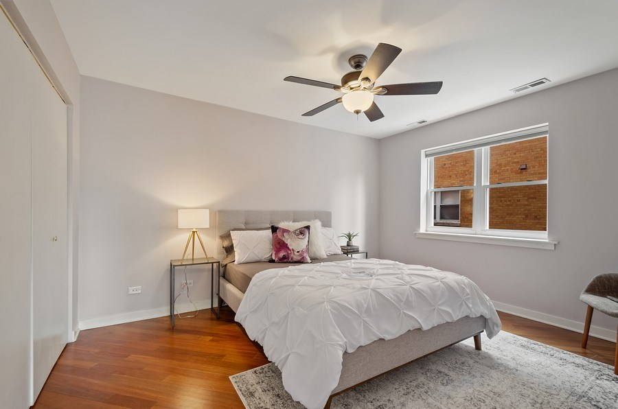Real Estate Photography - 2525 N. Bryn Mawr Ave. Unit 304, Chicago, IL, 60659 - 2nd Bedroom