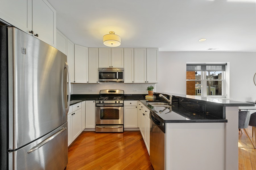 Real Estate Photography - 2525 N. Bryn Mawr Ave. Unit 304, Chicago, IL, 60659 - Kitchen