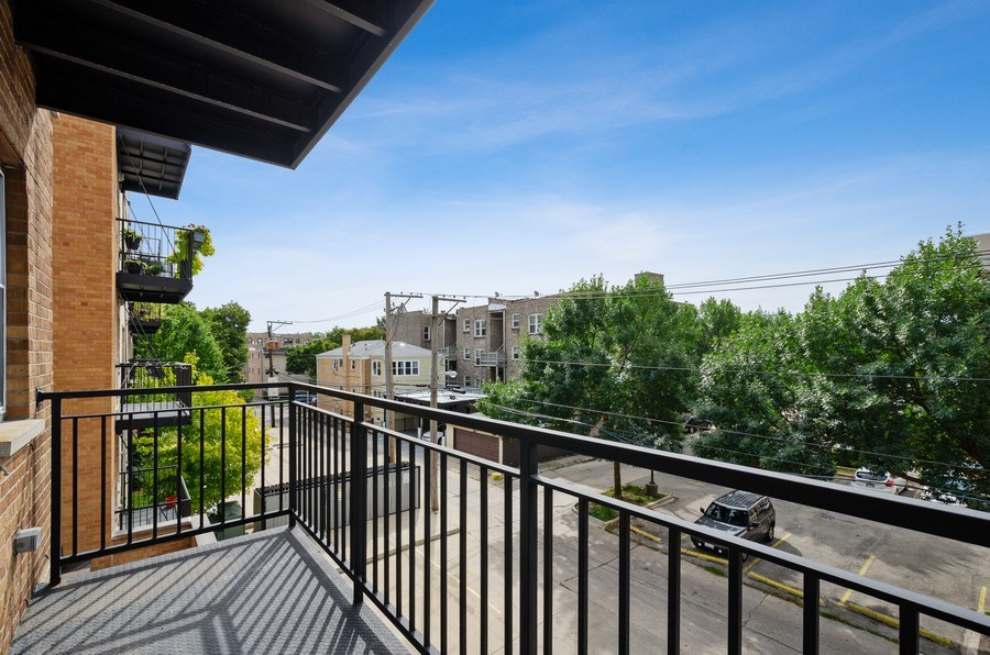 Real Estate Photography - 2525 N. Bryn Mawr Ave. Unit 304, Chicago, IL, 60659 - Balcony