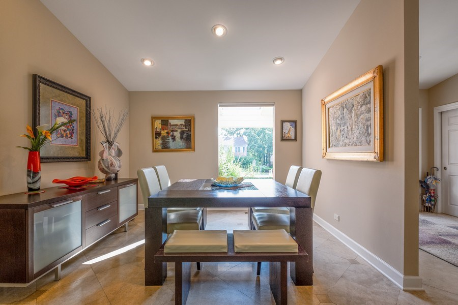 Real Estate Photography - 140 Oakmont Dr, Deerfield, IL, 60015 - Dining Room