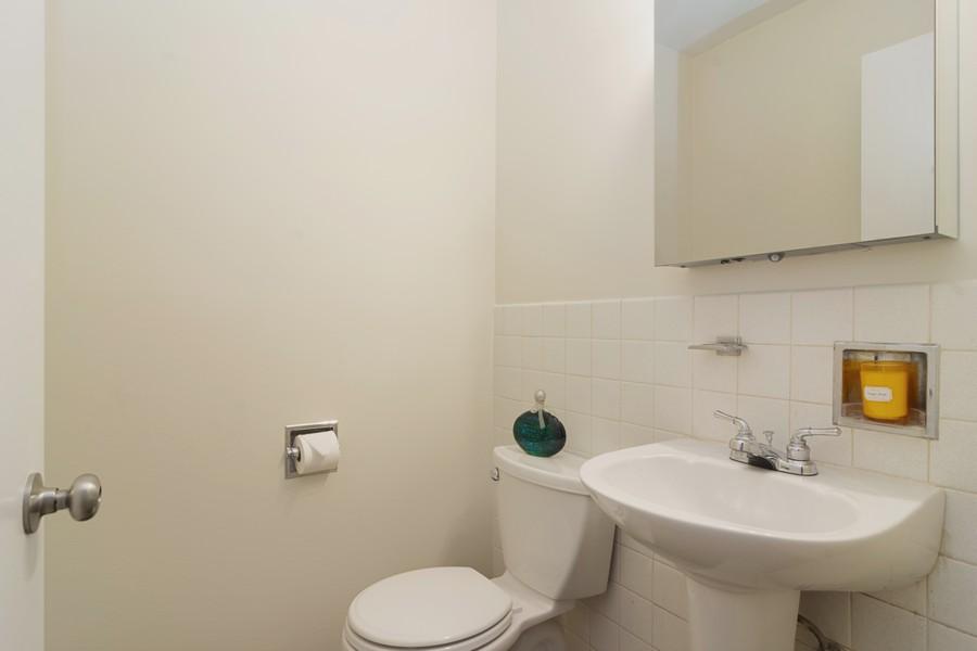 Real Estate Photography - 205 N Ridge, Arlington Heights, IL, 60004 - Master Bathroom