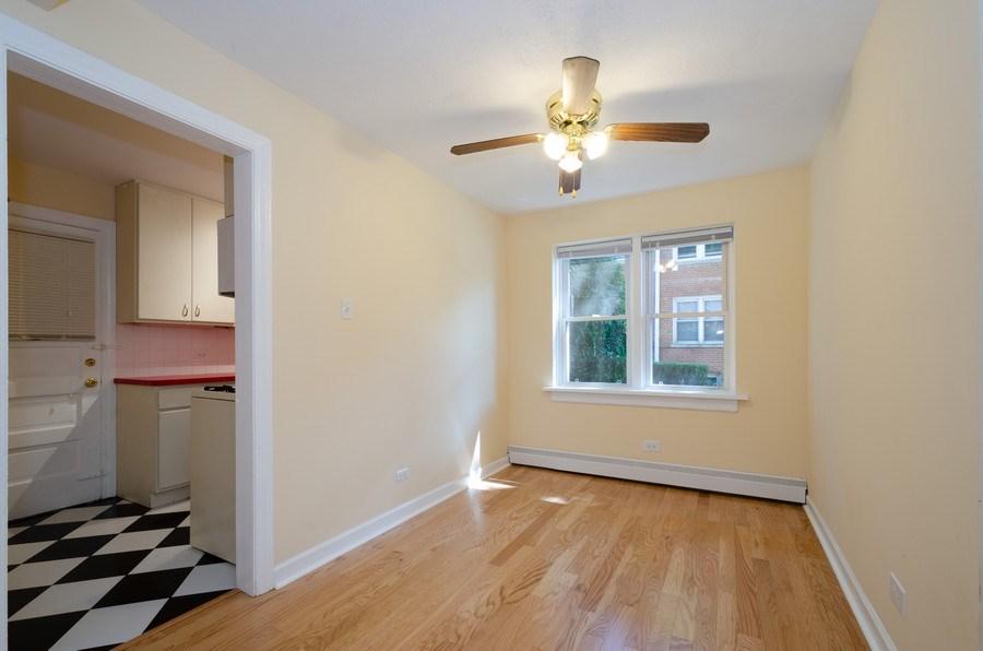 Real Estate Photography - 622 Oakton, #1, Evanston, IL, 60202 - Dining Room