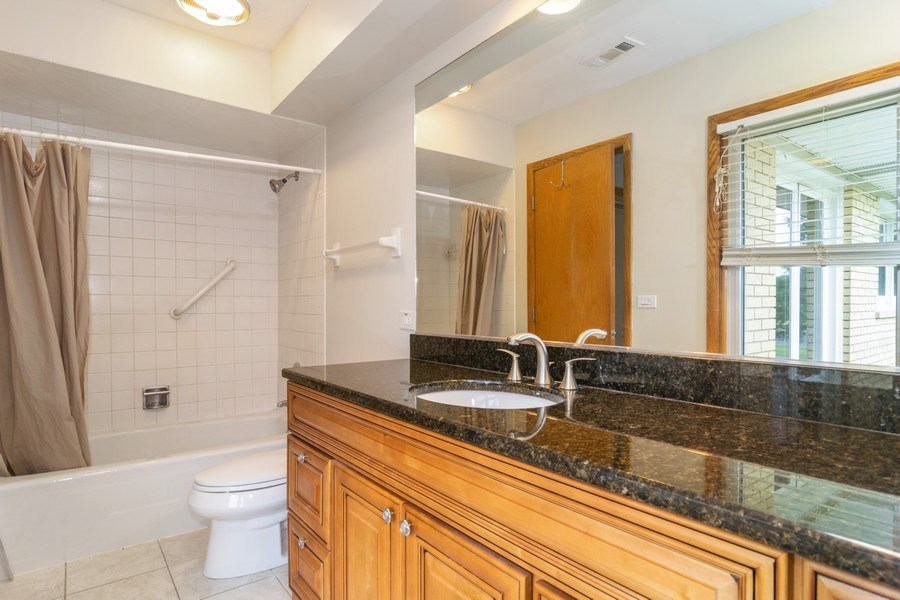 Real Estate Photography - 1510 E Northwest Highway, 1510 E Northwest Highway, Arlington Heights, IL, 60004 - Master Bathroom