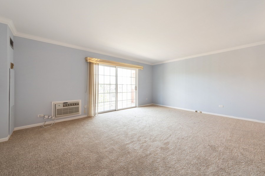Real Estate Photography - 1220 Depot, Unit 415, Glenview, IL, 60625 - Living Room