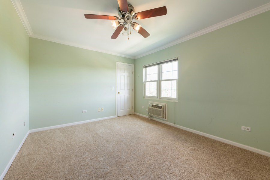 Real Estate Photography - 1220 Depot, Unit 415, Glenview, IL, 60625 - Master Bedroom