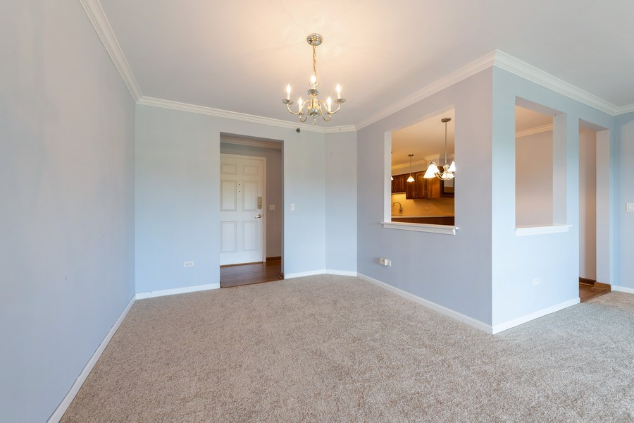 Real Estate Photography - 1220 Depot, Unit 415, Glenview, IL, 60625 - Dining Area