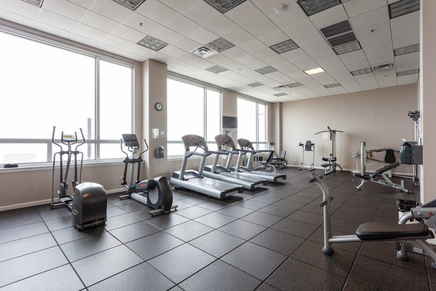 Real Estate Photography - 1841 s calumet, chicago, IL, 60616 - Gym