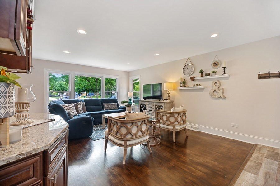 Real Estate Photography - 334 S Gibbons, Arlington Heights, IL, 60004 - Living Room