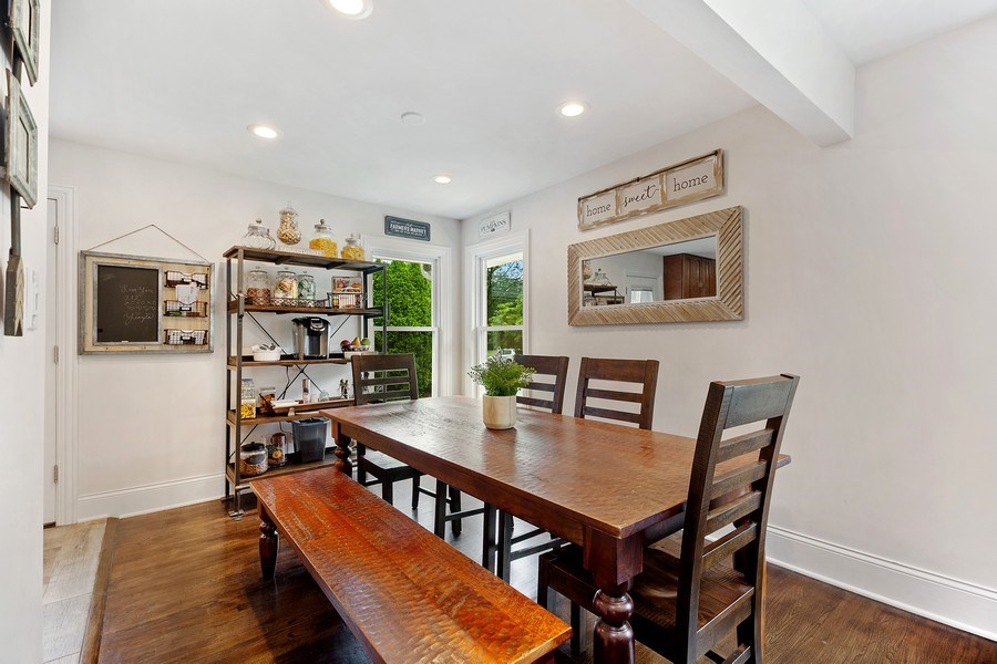 Real Estate Photography - 334 S Gibbons, Arlington Heights, IL, 60004 - Dining Room